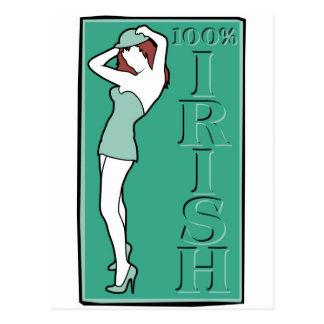100 Irish Postcard