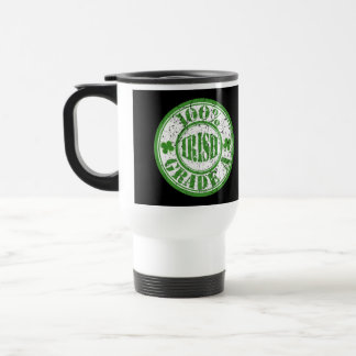 100% IRISH STAMP TRAVEL MUG