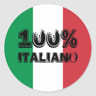 100% Italiano Sticker