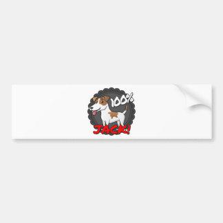 100% Jack Russell Bumper Sticker