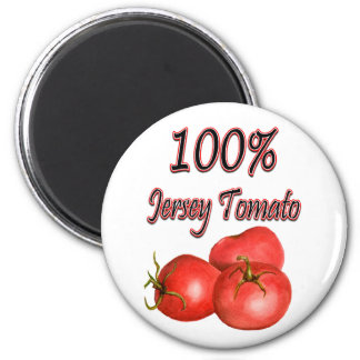 100% Jersey Tomato Magnet