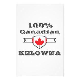 100% Kelowna Personalized Stationery