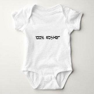 100% kosher clothing ;-) baby bodysuit