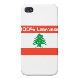 100 Lebanese iPhone 4 Cover