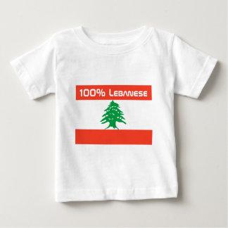 100% Lebanese Tshirt