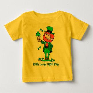100% Lucky Irish Baby Shirt