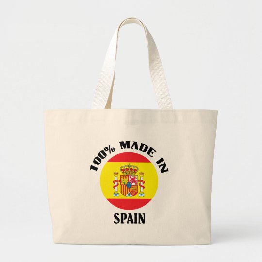 100% Made In Spain Large Tote Bag