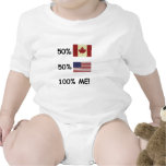 100% ME Canadian/American Bodysuit