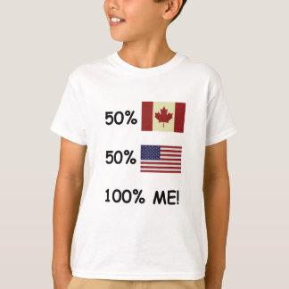 100% ME Canadian/American T-Shirt