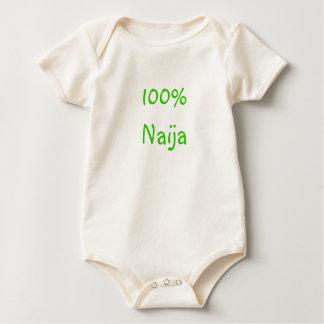 100% Naija Baby Bodysuit