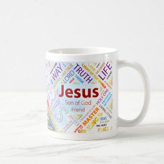 100 Names of Jesus Mug