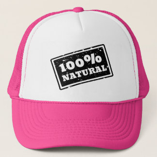 100% Natural Trucker Hat