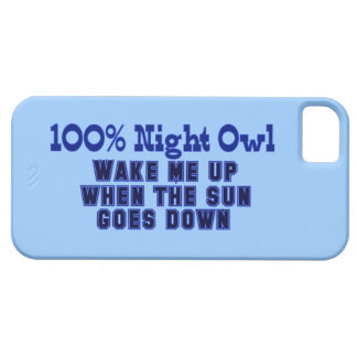 100% Night Owl iPhone 5 Case