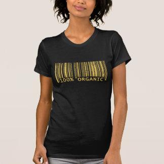 100% Organic Bar Code Shirt