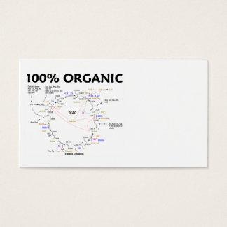 100% Organic (Krebs Cycle - Citric Acid Cycle)