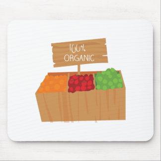100% Organic Mousepads