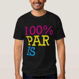 100% paris shirts