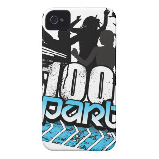 100% PARTY iPhone 4 Case-Mate CASE