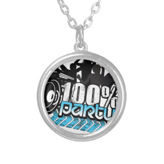 100% PARTY NECKLACE