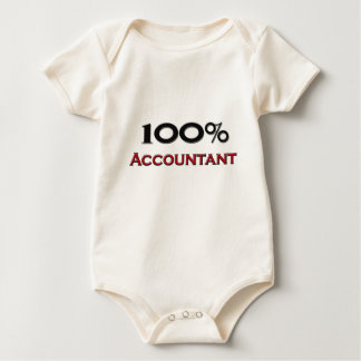 100 Percent Accountant Baby Bodysuit