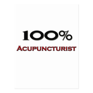100 Percent Acupuncturist Postcards