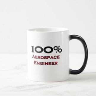100 Percent Aerospace Engineer Magic Mug