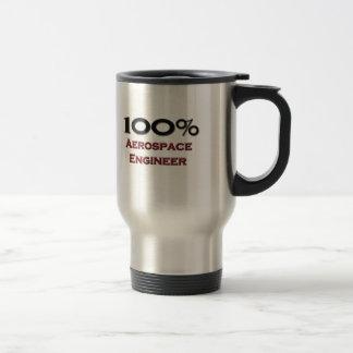 100 Percent Aerospace Engineer Travel Mug