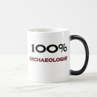 100 Percent Archaeologist Coffee Mugs