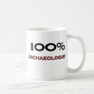 100 Percent Archaeologist Coffee Mug