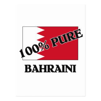 100 Percent BAHRAINI Postcard