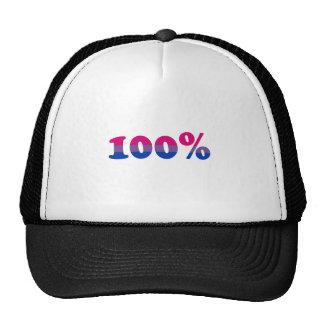 100 Percent Bisexual Trucker Hat