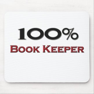 100 Percent Book Keeper Mouse Pads