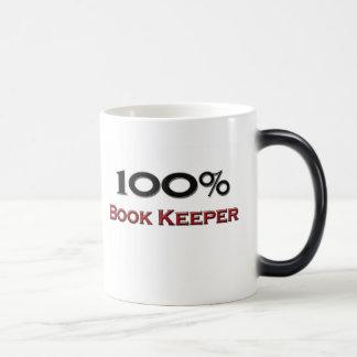 100 Percent Book Keeper Coffee Mug