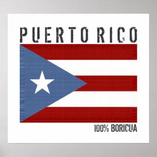 100 Percent Boricua, Puerto Rico Poster