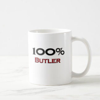 100 Percent Butler Coffee Mug