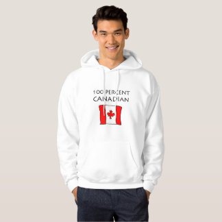 100 Percent Canadian Hoodie