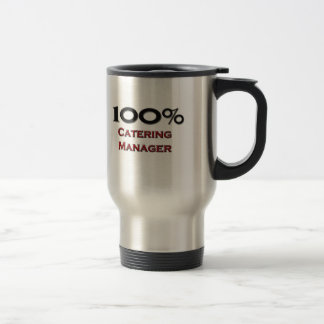 100 Percent Catering Manager Coffee Mug