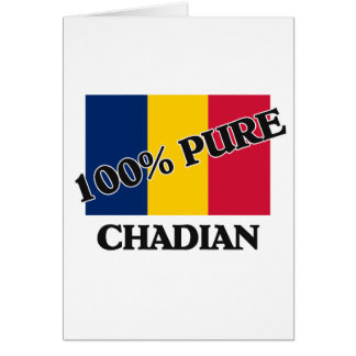 100 Percent CHADIAN Cards