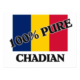 100 Percent CHADIAN Post Card