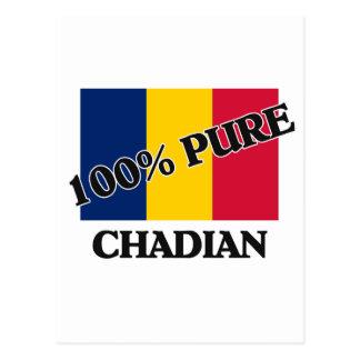 100 Percent CHADIAN Postcard
