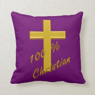 100 Percent Christian American MoJo Pillow Throw Cushions