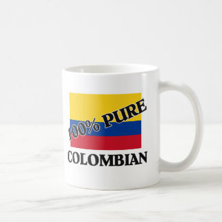 100 Percent COLOMBIAN Coffee Mug