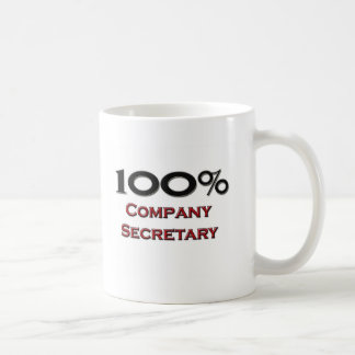 100 Percent Company Secretary Coffee Mug