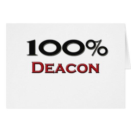 100 Percent Deacon Cards