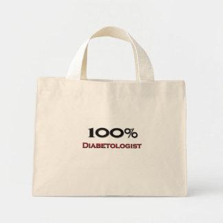 100 Percent Diabetologist Mini Tote Bag