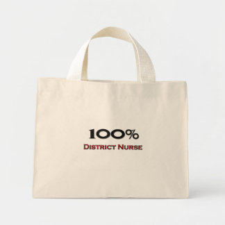 100 Percent District Nurse Mini Tote Bag