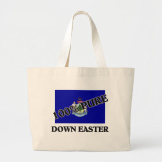 100 Percent Down Easter Canvas Bag