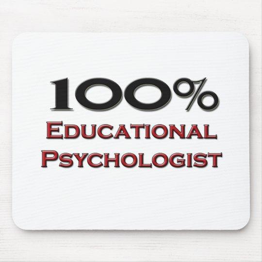 100 Percent Educational Psychologist Mouse Mat