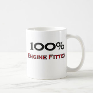 100 Percent Engine Fitter Coffee Mugs