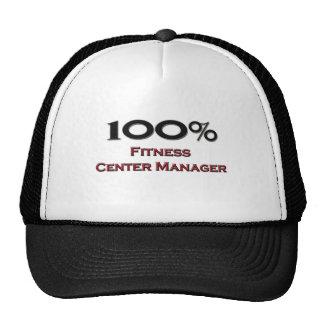100 Percent Fitness Center Manager Trucker Hats